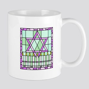 Star of David & Menorah Mug